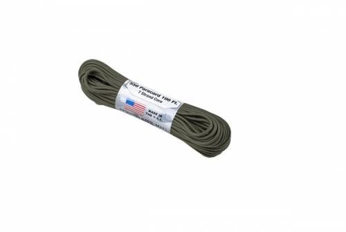 Snur paracord - 550lbs - olive green