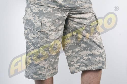 Pantaloni scurti model acu ripstop digital