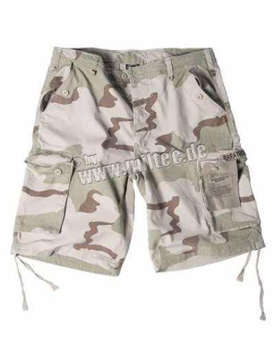 Pantaloni scurti model paratrooper (desert 3)
