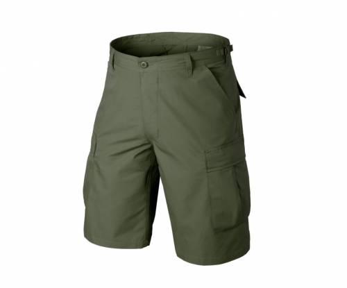 Pantaloni scurti model ripstop - olive green
