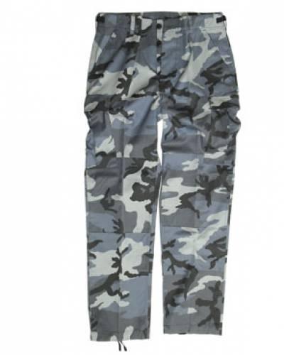 Pantaloni de camuflaj model us - bdu ranger (dark camo)