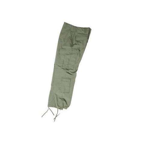 Pantaloni model acu - ripstop oliv