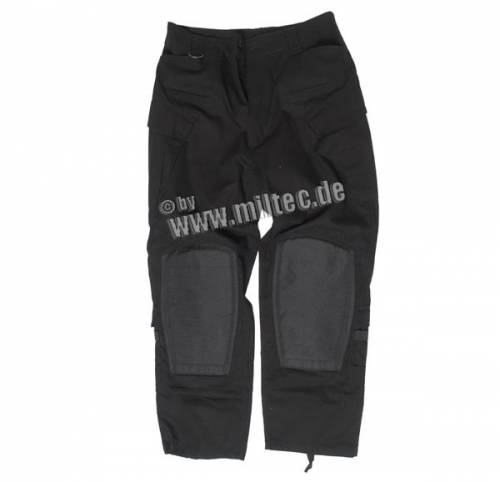 Pantaloni model mcu ripstop - negru