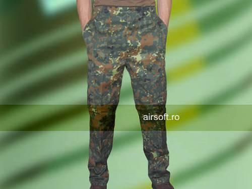 Pantaloni model us - bdu field camuflaj flecktarn