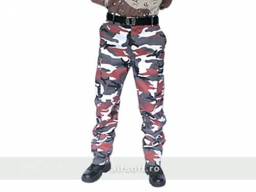 Pantaloni model us bdu field (red)