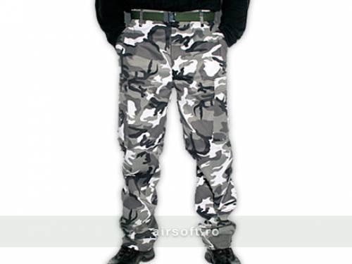 Pantaloni model us bdu field (urban)