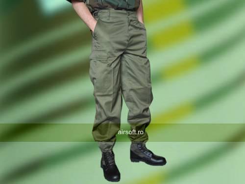 Pantaloni model us bdu ranger (oliv)