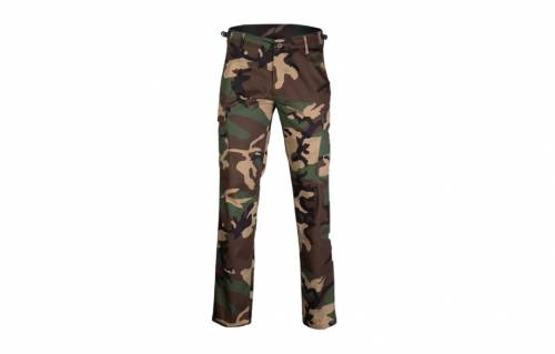 Pantaloni model us - bdu ranger - straight cut - woodland