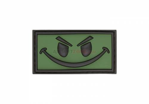 Patch cauciuc - evil smile - forest