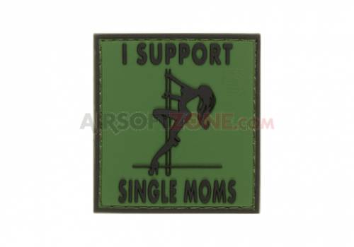 Patch cauciuc - mesaj i support single mums - forest