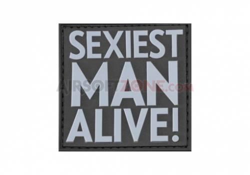 Patch cauciuc - mesaj sexiest man alive - swat