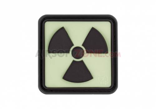 Patch cauciuc - radioactive - black