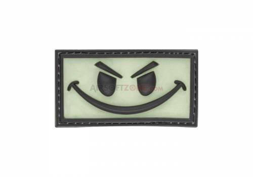 Patch cauciucat - evil smile - glow back