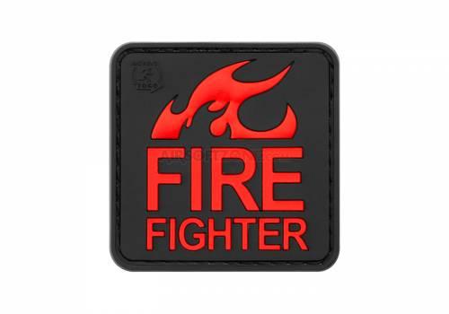 Patch cauciucat - fire fighter - blackmedic