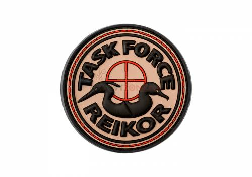 Patch cauciucat - task force reikor - desert