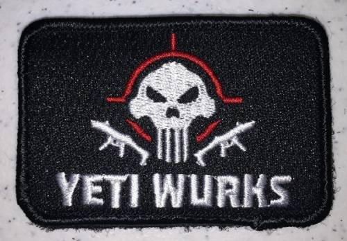Patch - yeti wurks - material textil