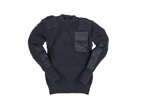 Pulover model bundeswehr albastru marin