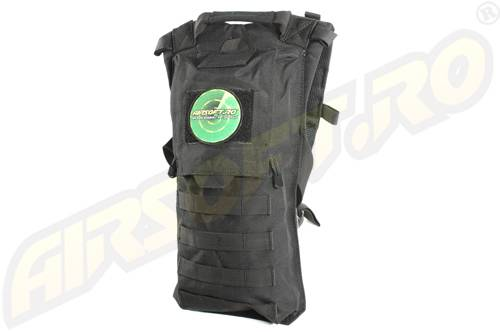 Port sac pentru hidratare - negru