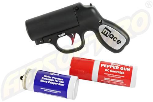 Pepper gun - black - 28 g