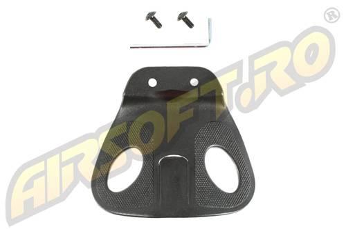 Adaptor reglabil pentru teaca (negru)