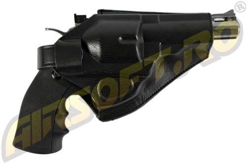 Teaca de centura din cordura pentru revolver dan wesson 25 si 4 inch