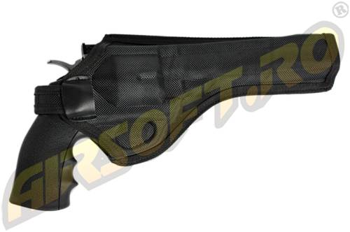 Teaca de centura din cordura pentru revolver dan wesson 6 si 8 inch