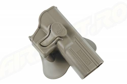 Teaca din tehnopolimer pentru glock17-g2f