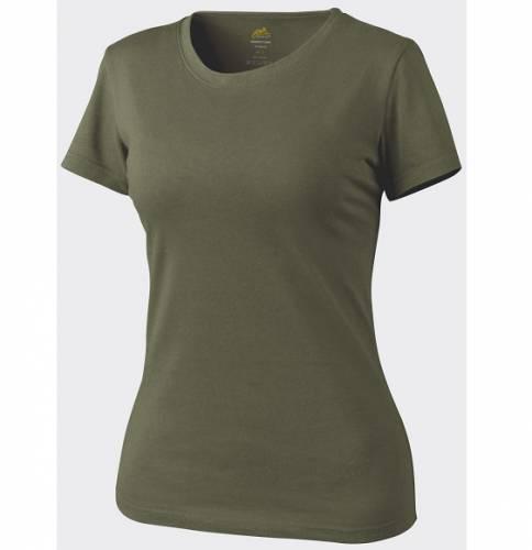 Tricou de dama cu maneca scurta - olive green