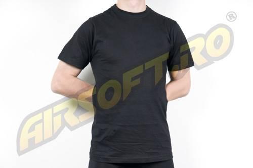 Tricou cu maneca scurta negru