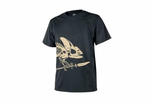 Tricou skeleton - negru